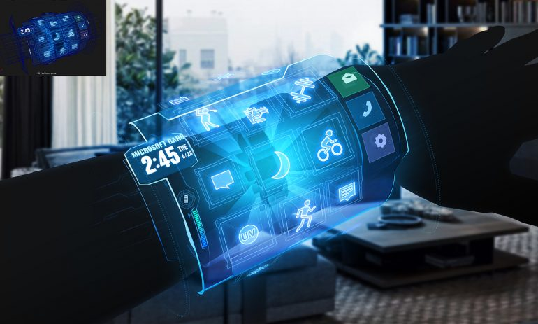 微软手环AR概念设计(2016)