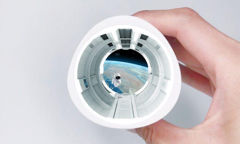 骨瓷杯AR概念设计(2019)